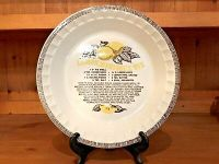 Royal China Jeannette Pie Plate & Royal China Jeannette ...