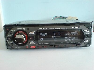 SONY CDX-GT300 CAR Stereo Radio Mp3 Wma Aux Cd Player - £2790