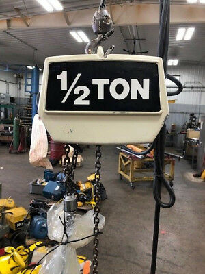 COFFING 2 TON Electric Hoist With Motorized Trolley - $1,35500