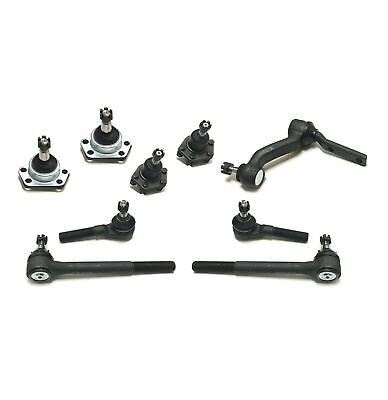 UPPER  LOWER Ball Joint Inner  Outer Tie Rod  Steering Idler Arm