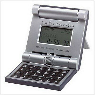 WORLD TIME TRAVEL Calculator Includes batteries - $875 PicClick
