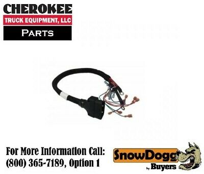 SNOWDOGG/BUYERS PRODUCTS 16160400, Plow side Control Harness