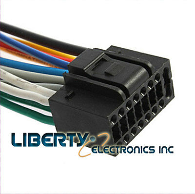 NEW 16 PIN Wire Harness for KENWOOD KDC-610U Player - $1189 PicClick