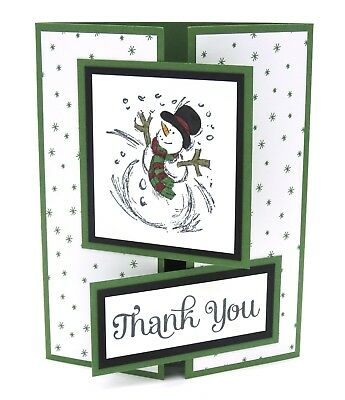STAMPIN UP CARD Thank You Card Stampin Up Christmas Thank You
