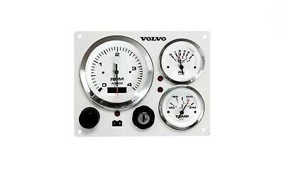 VOLVO MARINE INSTRUMENT Panel custom made, with wiring harness