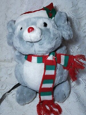 RUSS BERRIE VINTAGE Christmas Mouse Mischief 11\