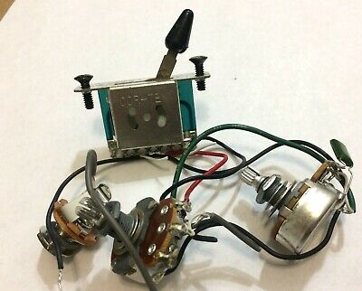 IBANEZ RG SERIES Electric Guitar 2-Pickup Wiring Harness,Alpha Pots