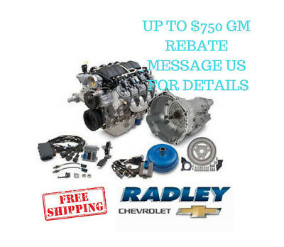 CHEVROLET OEM GM Performance LS3 525 Connect  Cruise Package Engine