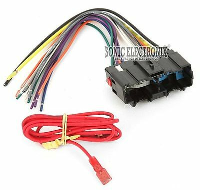 METRA 70-2104 CAR Stereo Wiring Harness for 2006-Up Chevrolet HHR