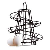 KITCHEN Storage Spiral Helter Skelter 18 Egg Holder swirl