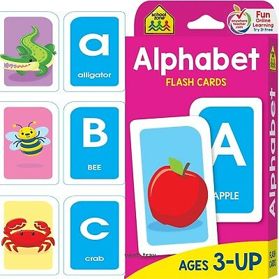 FLASH CARDS FOR Kids Alphabet Toddlers Early Learning Educational