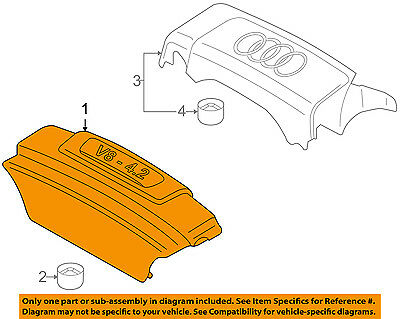 AUDI OEM 04-06 TT Quattro Engine Appearance Cover-Outer Cover Screw