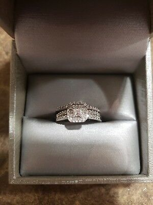 ZALES DIAMOND WEDDING Ring - new in box - $29999 PicClick