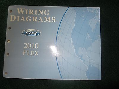 2010 FORD FLEX Service Manual Electrical Wiring Diagrams OEM Factory