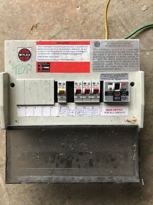 Wylex Fuse Box Replacement Wiring Diagram