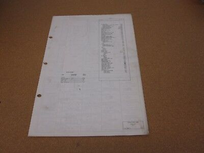 1969 FORD TRUCK Wiring Diagram Original F100 F250 F350-F1000 Pickup