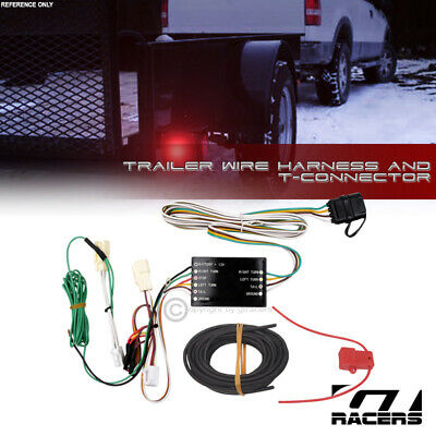 FOR 2013-2018 TOYOTA RAV4/Avalon Trailer Hitch 4-Way Wire Harness  T-Connector
