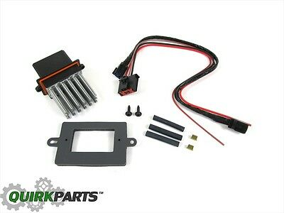 JEEP DODGE CHRYSLER With Auto Temp BLOWER MOTOR RESISTOR  WIRING