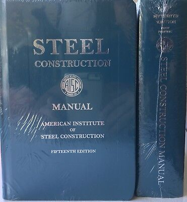 AISC - STEEL Construction Manual, 15th Ed by American Institute of