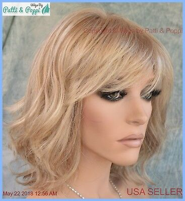STOP TRAFFIC RAQUEL Welch Wig Lace Front Mono Crown R1621s+ Glazed