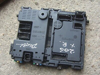 PEUGEOT 206 GENUINE Siemens Interior Fuse Box Body Control Module