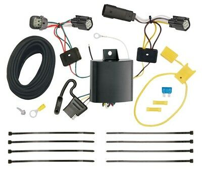 TRAILER WIRING HARNESS Kit For 15-18 Jeep Renegade All Styles