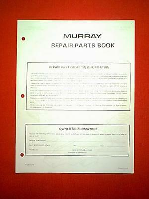 MURRAY REAR ENGINE Riding Mower Model 8-30502 Parts Manual - $600