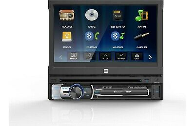 DUAL 2-DIN TOUCHSCREEN DVD CD Bluetooth Radio, Scosche Dash Kit