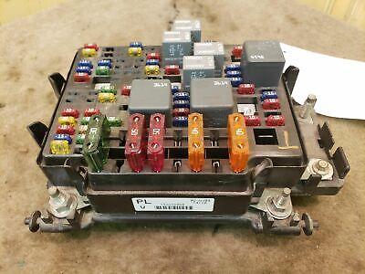 ENGINE FUSE BOX GMC SIERRA 1500 98 Compartment Relay OEM - $5500