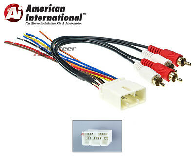 TOYOTA CAR STEREO CD Player Wiring Harness Wire Aftermarket Radio