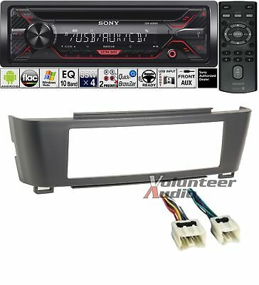 SONY CAR RADIO Stereo CD Player Dash Install Mounting Kit + Wiring