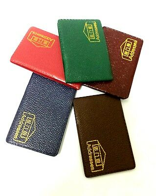 MINI ADDRESS BOOK Colorful Phone Number Contact Pocket Size Green