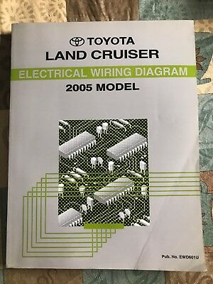 2005 TOYOTA TUNDRA Truck Electrical Wiring Diagram Service Manual