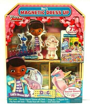 NEW DOC MCSTUFFINS 26 Piece Stamp And Art Set Girls School