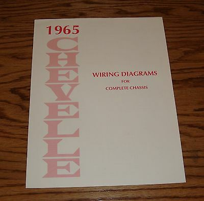 1967 CHEVROLET CHEVELLE Wiring Diagram Manual 67 Chevy SS - $900