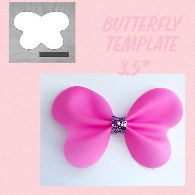 BUTTER FLY BOW Template 35\u201d For Hair Bows - £275 PicClick UK
