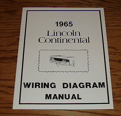 1965 Lincoln Continental Wiring Diagram Wiring Diagram