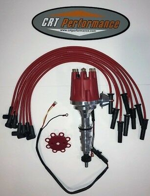 FORD FE 332,352,360,390,406,427,428 RED Small Cap HEI Distributor