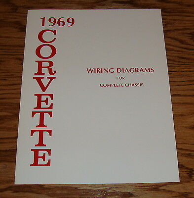 1966 CHEVROLET CORVETTE Wiring Diagrams for Complete Chassis 66