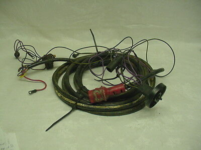 JOHNSON EVINRUDE OMC Outboard Motor Wiring Harness Red Plug C118 2nd