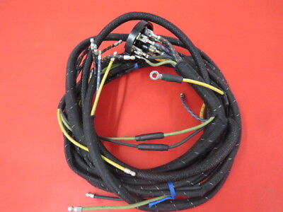NOS!! OEM CLOTH Wiring Harness 1937 Only Ford Passenger Headlamps