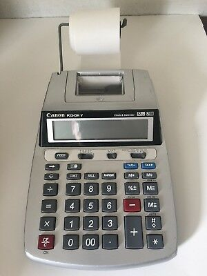 CANON P23-DH V Calculator with Clock and Calendar - power cable