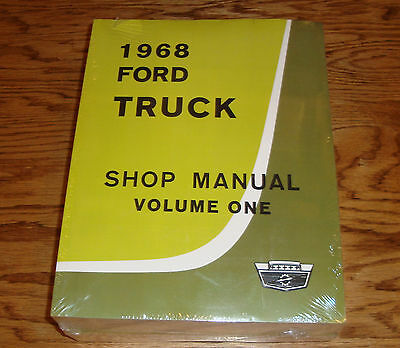 1983 FORD TRUCK Shop Service Manual + Bronco F100/350 Wiring Diagram