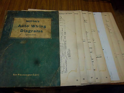 1958 CHEVROLET WIRING Diagram Manual 58 Chevy - $900 PicClick