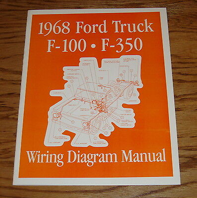 1967 - 1968 Ford Truck Facts  Features Manual 67 68 F-100 F-250