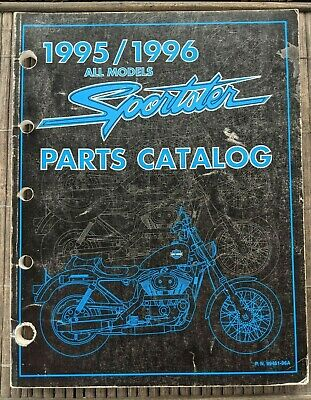 1995/96 HARLEY DAVIDSON Sportster Models Parts Manual / Pn 99451-96A