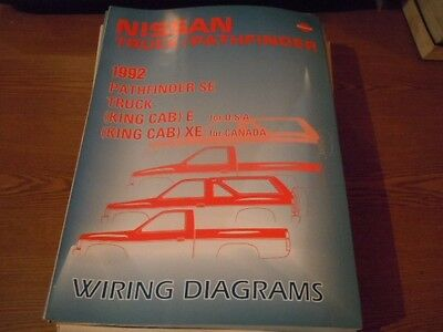 1988 NISSAN VAN Wiring Diagrams Shop Manual DR311 - $1590 PicClick