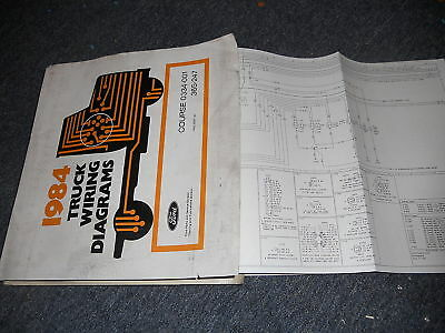 1990 FORD F600 F-600 Cowl Wiring Electrical Diagrams Schematics