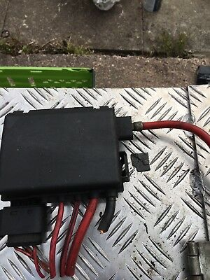 VW GOLF MK4 FUSE BOX ON TOP OF BATTERY 4 WIRE TYPE 1J0 937 550 AA