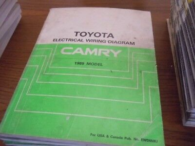 2007 TOYOTA CAMRY Electrical Wiring Diagram Service Manual (Rx457